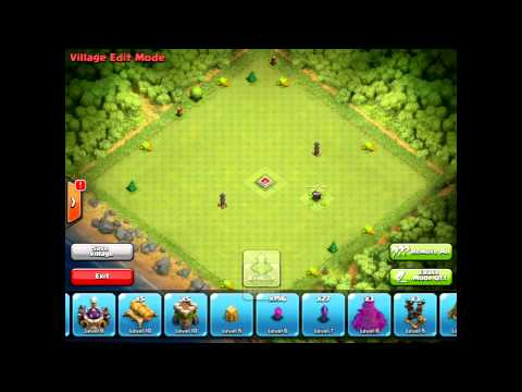 Clash of Clans - Update 5.2 - Village Edit Mode, Mortar Level 8 & Halloween!