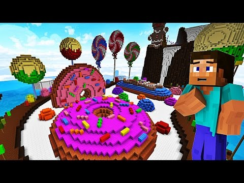 LE PLUS GROS BONBON DU MONDE ! | BUILD WAR | Minecraft