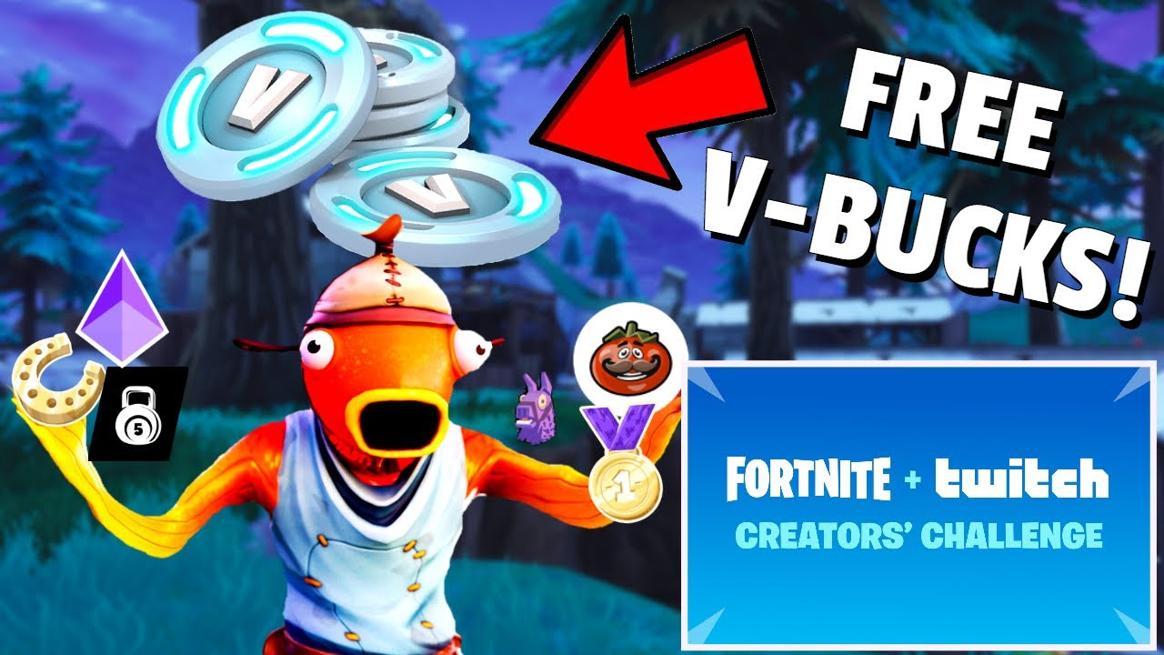Fortnite X Twitch Creator Challenges How To Get Free V Bucks In Fortnite Youtube How to get free vbucks in fortnite! fortnite x twitch creator challenges how to get free v bucks in fortnite