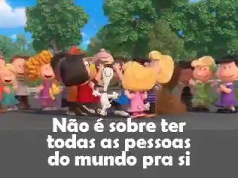 Trem bala Ana Vilela  -versão Snoopy letra