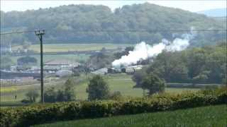 (HD) West Somerset Railway, Late Spring Holiday Saturday,The 23rd May 2015.
