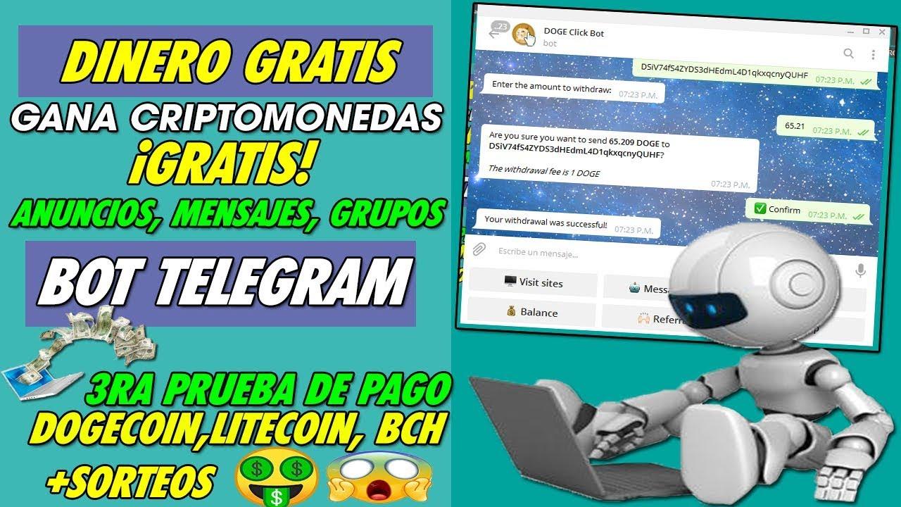 como ganar dinero con telegram sin invertir)