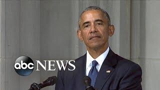 Barack H. Obama tribute to John McCain