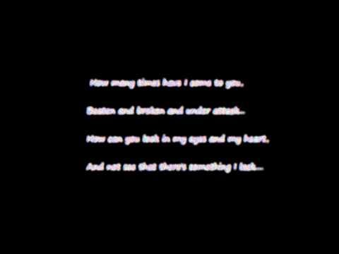 Let me leave - Marc Broussard - Lyrics