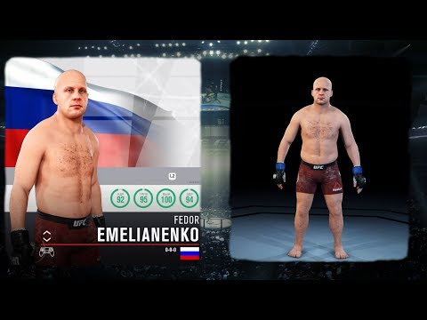 ФЕДОР ЕМЕЛЬЯНЕНКО в UFC 3 ПОСЛЕДНИЙ ИМПЕРАТОР