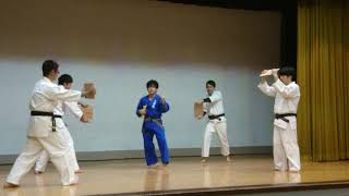 shinkempo demonstration Fumihito Sano.