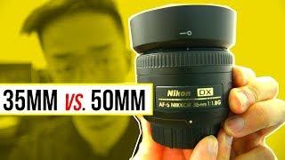 Nikon 35mm 1.8G DX VS Nikon 50mm 1.8G DX/FX? (Which One Is BETTER?)