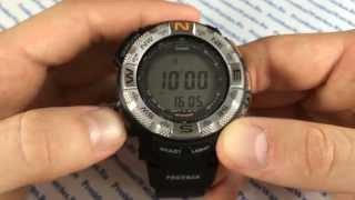 Как настроить наручные часы Casio ProTrek PRG-260-1E - видео от President Watches(В видео рассказывается, как настроить часы Casio ProTrek PRG-260-1E PresidentWatches.Ru - http://presidentwatches.ru/ Casio ProTrek PRG-260-1E ..., 2014-04-30T07:53:57.000Z)