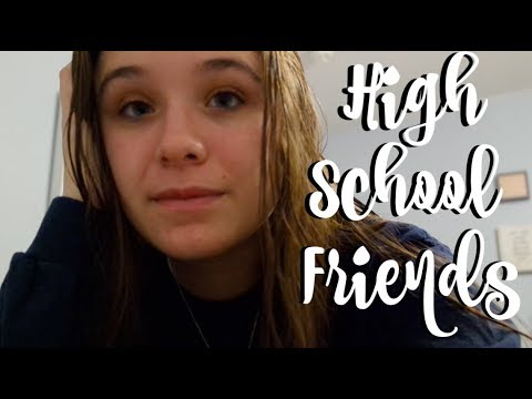 the truth about high school friends after starting college | Vlogmas Day 17
