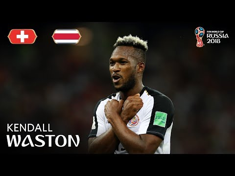 Kendall WASTON Goal - Switzerland v Costa Rica - MATCH 42