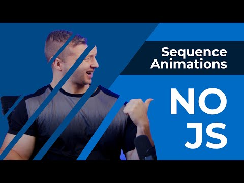 CSS Sequence Animations - With NO JS?!