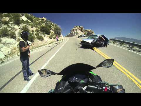 Mt Lemmon ride with AZ3NC and saw a gruesome car accident. :(