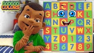 Goo Goo Gaga Plays Hide and Seek with Alphabets! Video