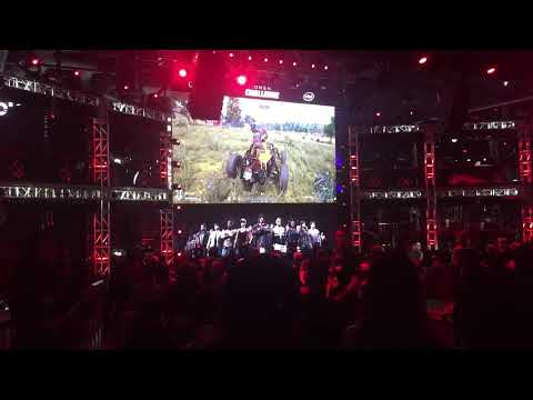 40 Person PlayerUnknown's Battleground (PUBG) match at TwitchCon 2017 Long Beach