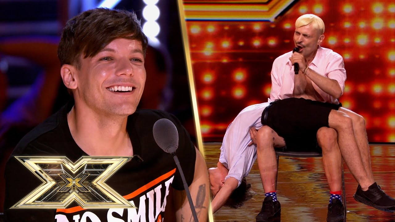 We can't take our eyes off Ivo Dimchev's MESMERISING Audition! | The X Factor UK