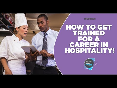 How To Get Trained For A Career In Hospitality | International Student Webinar | Sprott Shaw College
