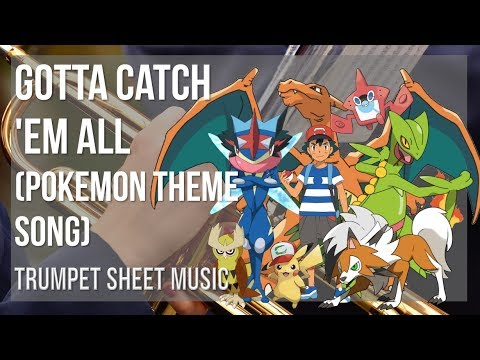 EASY Trumpet Sheet Music: How to play Gotta Catch 'Em All (Pokemon Theme Song) by Jason Paige