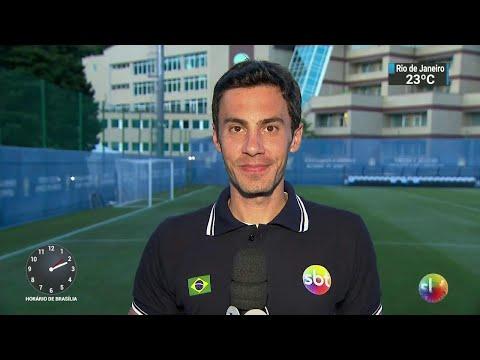 Fred volta a treinar e Seleção tem noite de folga na Rússia | SBT Notícias (19/06/18)