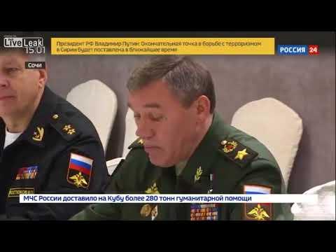 Russian Chief of General Staff Valery Gerasimov Plans Liquidation of Terrorists Before Negotiations
