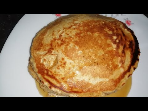 OATMEAL PANCAKES--HEALTHY PANCAKES - PART 2 /COOK WITH ME