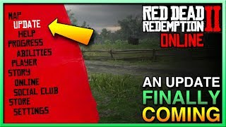 Red Dead Redemption 2 Online Update COMING SOON? Update Red Dead Online is DEAD!