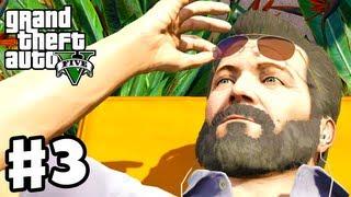 Grand Theft Auto 5 - Gameplay Walkthrough Part 3 - Father/Son (GTA 5, Xbox 360, PS3)