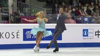 Виктория Синицина - Никита Кацалапов. Ритм-танец. Танцы. Финал Гран-при по фигурному катанию 2019/20