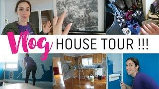 Vlog #30 - House Tour + on commence la peinture !