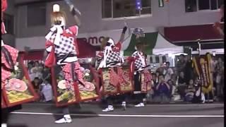 Oni Kenbai Street Parade. Kitakami city August 2009