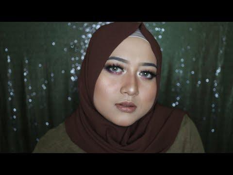 CRANBERRY CHOCOLATE MAKEUP (makeup Nuansa Coklat) TUTORIAL | Irma Melati