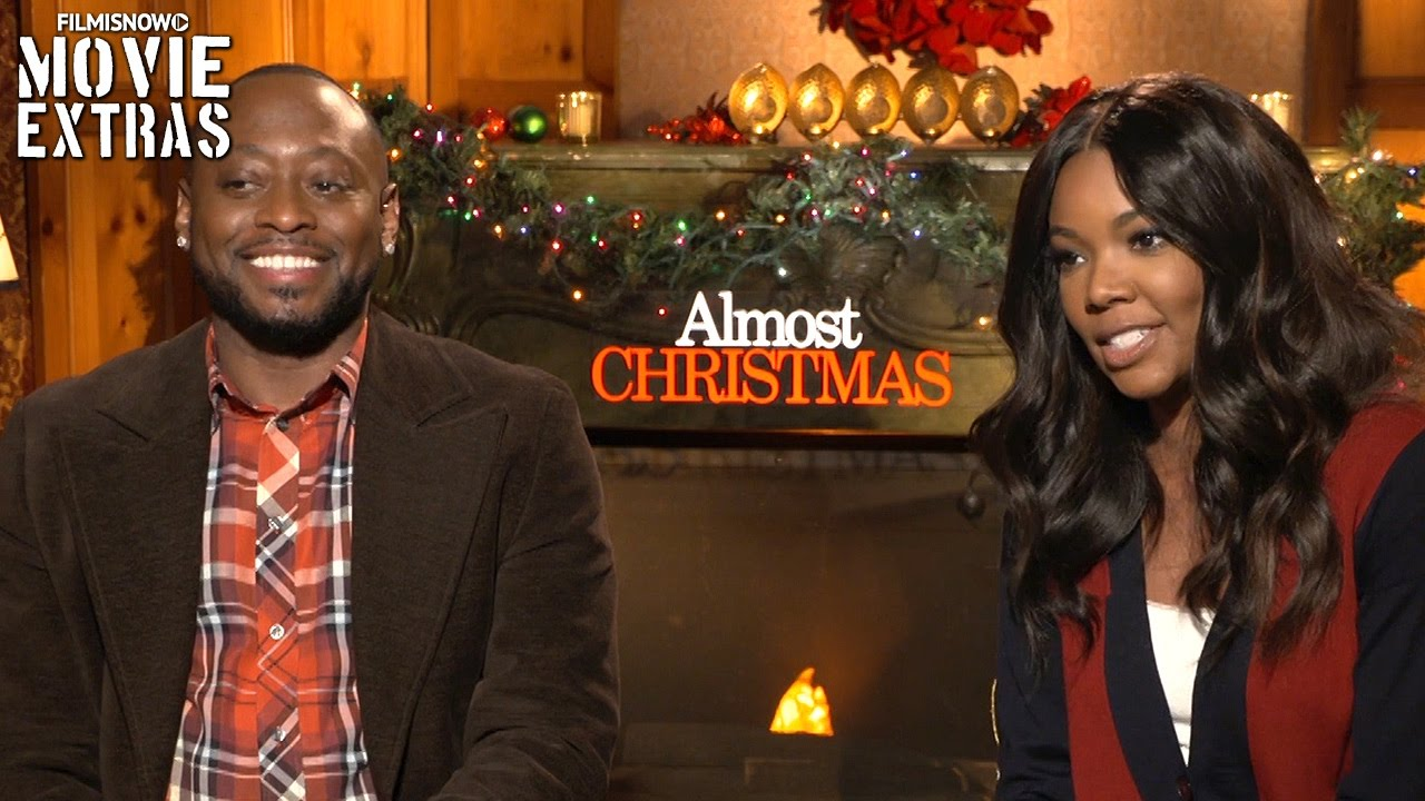Almost Christmas Actor Omar.Almost Christmas 2016 Gabrielle Union Omar Epps Talk About Their Experience Making The Movie