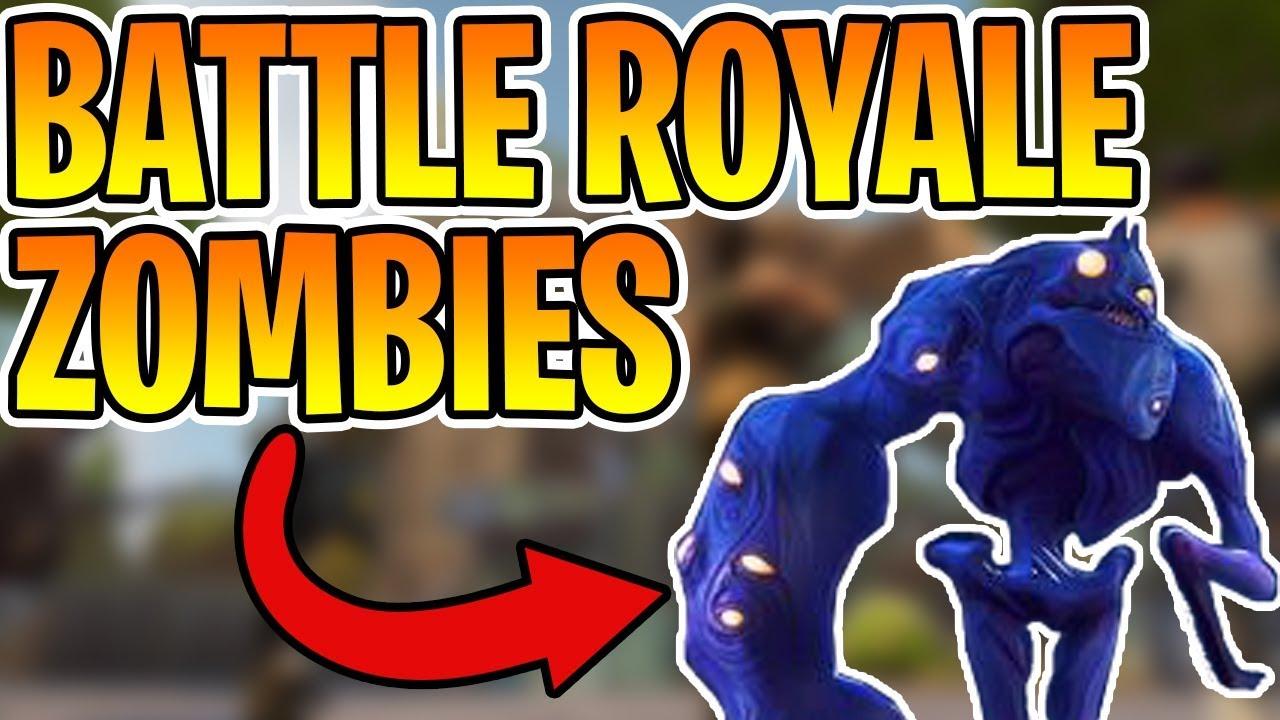 ZOMBIES IN FORTNITE BATTLE ROYALE!? - FORTNITE BATTLE ...