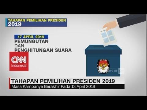 Tahapan Pemilihan Presiden 2019