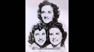 The Andrews Sisters - Wake Up and Live (1937) - Second Single!