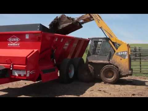 New KUHN Knight SL 100 Series ProTwin® Slinger® Manure Spreader Hi 5
