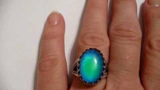 Sterling Mood Ring - ICE vs. MOOD RING - http://www.amazon.com/shops/goodmoodgirl
