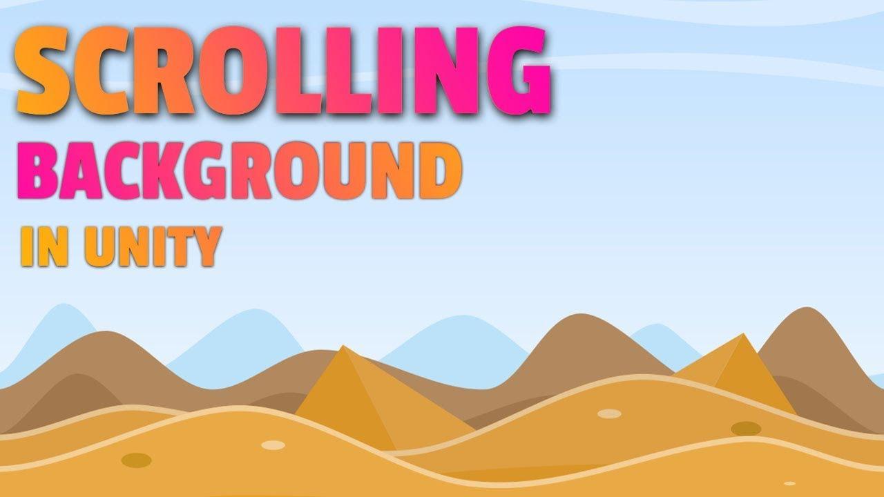 Scrolling Background | Unity Tutorial | Beginners