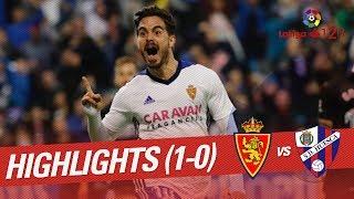 Resumen de Real Zaragoza vs SD Huesca (1-0)