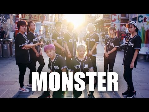 EXO _ MONSTER Dance Cover by DAZZLING from Taiwan
