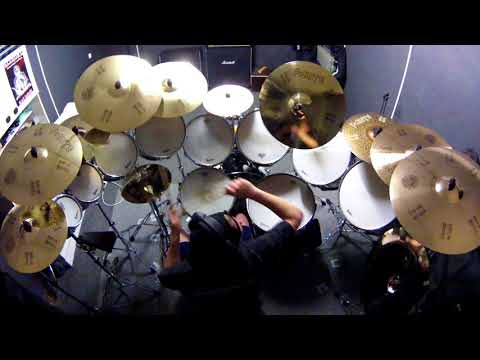 IRON MAIDEN Brave New World live ROD SOVILLA drum cover