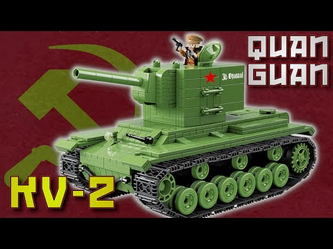 Quan Guan 100071 | KV - 2 | KB - 2 | Heavy Panzer | ✙ Review Deutsch | Noppenecke