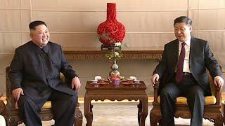 Kim Jong-un, en visite en Chine, promet un nouveau sommet productif avec Donald Trump