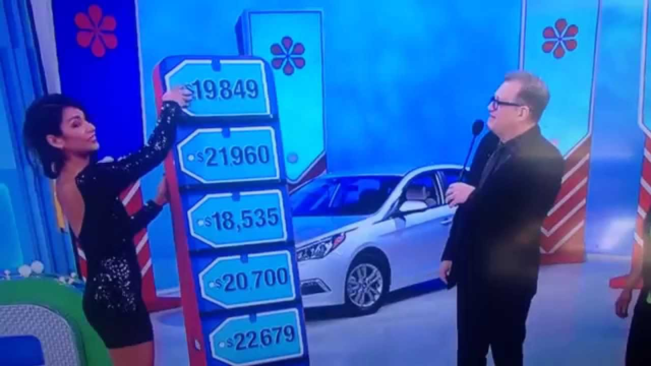 Price is right car prizes