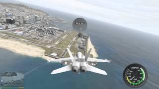 GTA5飛機模組-F/A-18C Hornet