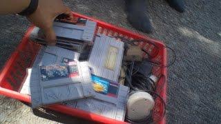 Insane Day! Snes,GC,GB (Spy Glasses) Retro Video Game Garage Sale Hunting Week 16:  - MaximusBlack