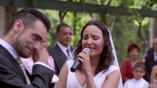 Sorpresa al novio en el altar - Boda Pau y Santy