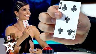 Card Magician Has A GIFT For The Judge on Bulgaria's Got Talent 2021   Magicians Got Talent