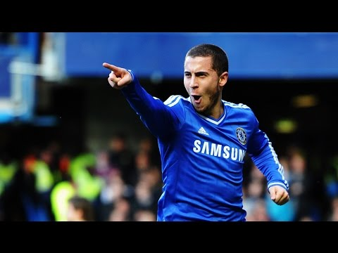 Football Skills - Eden Hazard những pha xử lý bóng tinh tế hay nhất thế giới