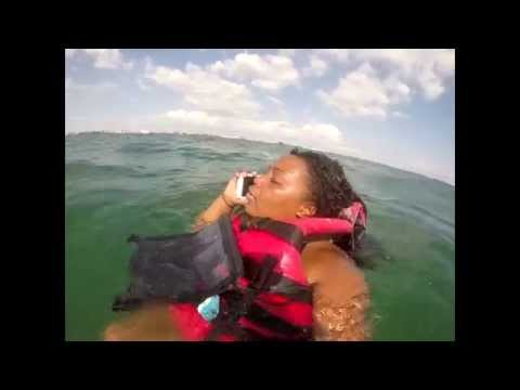 Thumbnail: Lost At Sea - Jet Ski - Shot With Gopro - Samsung Galaxy S5 Saved Our Lives - Williams Family Fun