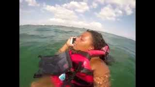 Lost At Sea - Jet Ski - Shot With Gopro - Samsung Galaxy S5 Saved Our Lives - Williams Family Fun